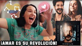 Camilo - No te Vayas | REACCIÓN