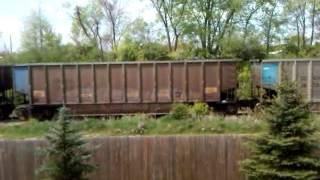 There's a frickin train in my backyard
