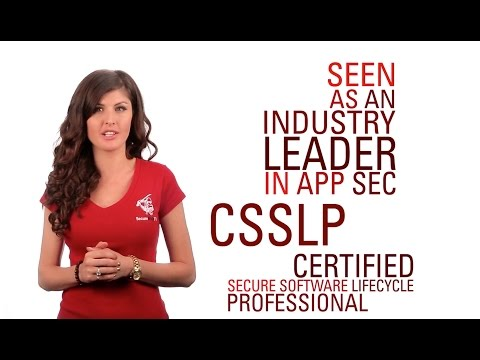 CSSLP Certified Secure Software Lifecycle Professional Training ...