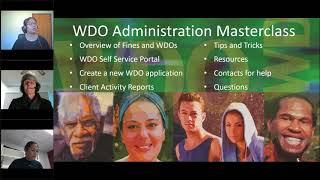 NSW Work and Development Order (WDO) Administration Masterclass