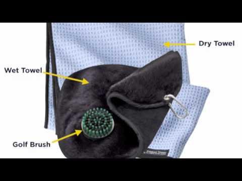 Rule 14 3 in 1 Golf Towels