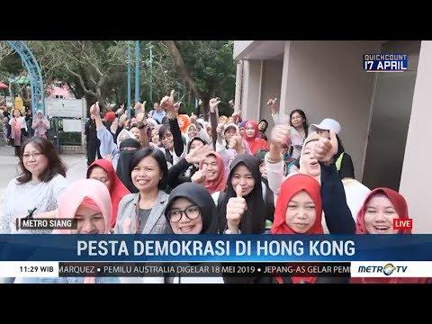 WNI di Hong Kong Rayakan Pesta Demokrasi