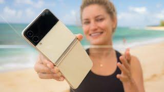 Samsung Galaxy Z Flip3 5G - Review in Hawaii!