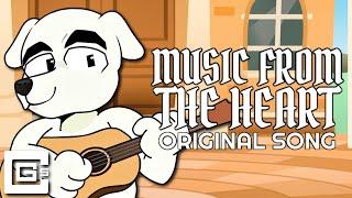 "ANIMAL CROSSING SONG ▶ ""Music from the Heart"" (feat. KK Slider) | CG5"