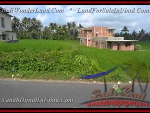 Murah Bukan Murahan 950 m2 Lahan  View sawah di Sentral Ubud TJUB428