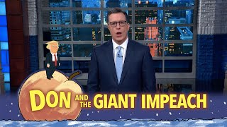 "Another day, another problematic presidential phone call, this time with the leader of Turkey. But don't worry, America, your leader possesses unmatched wisdom. #Monologue #Impeachment #Colbert  Subscribe To ""The Late Show"" Channel HERE: http://bit.ly/ColbertYouTube For more content from ""The Late Show with Stephen Colbert"", click HERE: http://bit.ly/1AKISnR Watch full episodes of ""The Late Show"" HERE: http://bit.ly/1Puei40 Like ""The Late Show"" on Facebook HERE: http://on.fb.me/1df139Y Follow ""The Late Show"" on Twitter HERE: http://bit.ly/1dMzZzG Follow ""The Late Show"" on Google+ HERE: http://bit.ly/1JlGgzw Follow ""The Late Show"" on Instagram HERE: http://bit.ly/29wfREj Follow ""The Late Show"" on Tumblr HERE: http://bit.ly/29DVvtR  Watch The Late Show with Stephen Colbert weeknights at 11:35 PM ET/10:35 PM CT. Only on CBS.  Get the CBS app for iPhone & iPad! Click HERE: http://bit.ly/12rLxge  Get new episodes of shows you love across devices the next day, stream live TV, and watch full seasons of CBS fan favorites anytime, anywhere with CBS All Access. Try it free! http://bit.ly/1OQA29B  --- The Late Show with Stephen Colbert is the premier late night talk show on CBS, airing at 11:35pm EST, streaming online via CBS All Access, and delivered to the International Space Station on a USB drive taped to a weather balloon. Every night, viewers can expect: Comedy, humor, funny moments, witty interviews, celebrities, famous people, movie stars, bits, humorous celebrities doing bits, funny celebs, big group photos of every star from Hollywood, even the reclusive ones, plus also jokes."