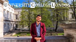 73 QUESTIONS WITH A UNIVERSITY COLLEGE LONDON STUDENT | CAMPUS TOUR