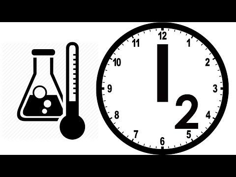 Химическая реакция - Йодные Часы!