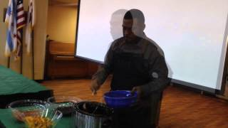 Eliminating the food desert areas in Chicago with Celebrity Chef, Judson Todd Allen