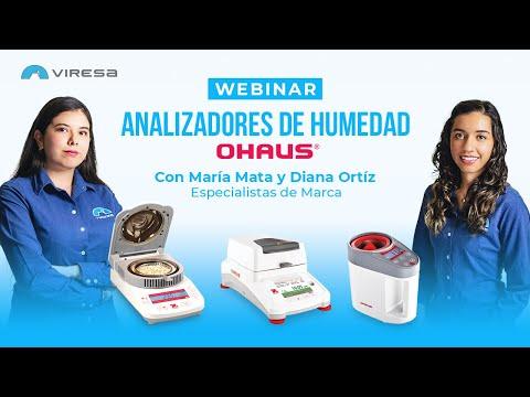 Webinar Analizadores de humedad OHAUS