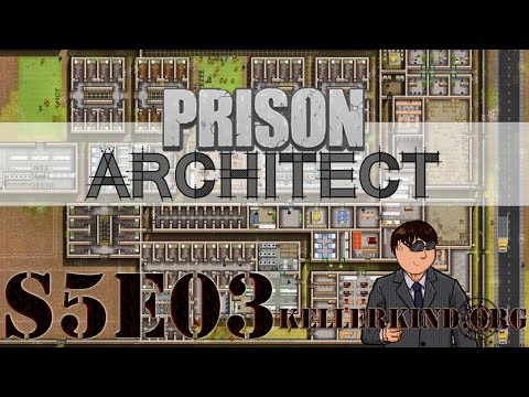 Prison Architect [HD|60FPS] S05E03 – Palermo – Teil 2 ★ Let's Play Prison Architect