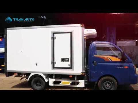 Xe tải HYUNDAI PORTER H150 thùng đông lạnh tại TRAN AUTO