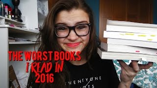 The Worst Books I Read In 2016