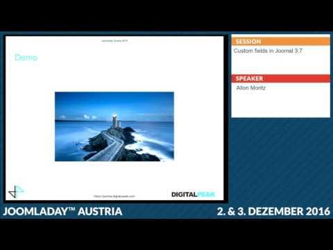 JD16AT - Custom fields since Joomla 3.7