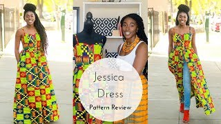 DIY Maxi Dress: Jessica Dress Pattern Review