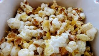 HOW TO MAKE SWEET & SALTY POPCORN