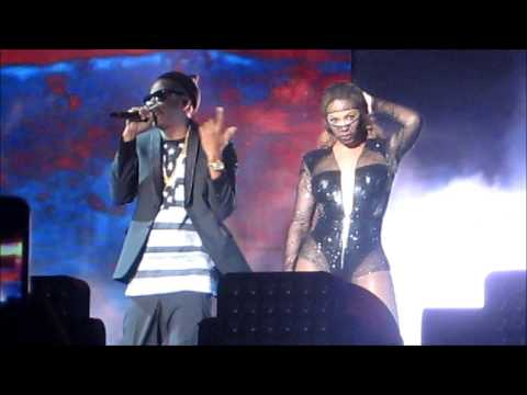 On The Run Tour: 'Bonnie and Clyde' - Beyonce and Jay Z. Arlington, Texas 7.22.14