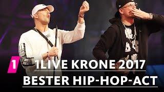 "RAF Camora Ist ""Bester Hip Hop Act"" | 1LIVE Krone 2017"
