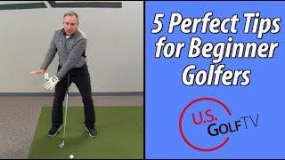 The 5 Best Tips for Beginner Golfers