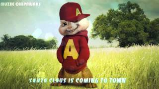 Santa Claus is coming to town (Chipmunks) || Best christmas song 2015