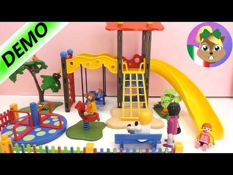 Parque de Playmobil– Costruzione e commenti Parte 2 / Il grande parco giochi di Playmobil