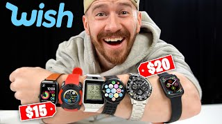 I Bought ALL The Smartwatches On Wish!!
