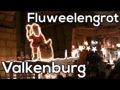 Fluweelgrot - Valkenburg - Kerstmarkt