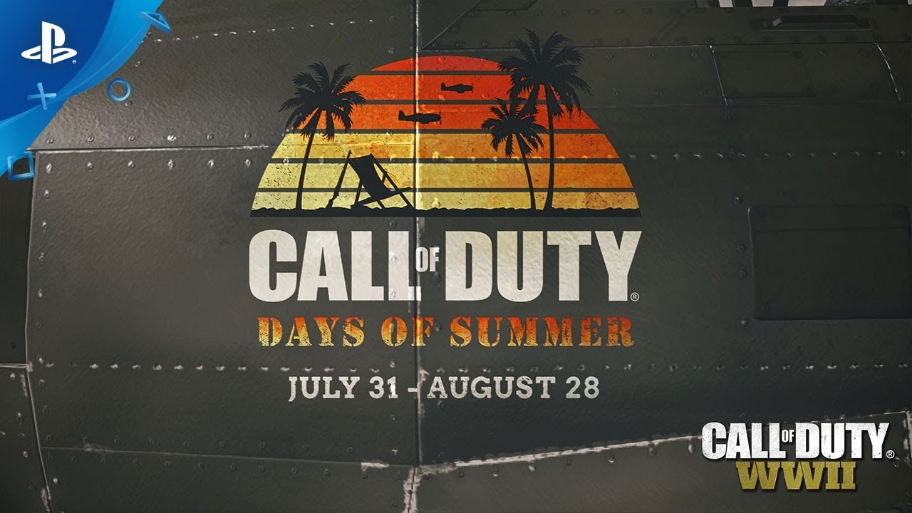 Days of Summer Comes to Call of Duty: WWII