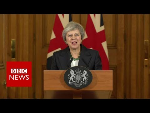 Theresa May: 'I believe in my deal' - BBC News (видео)
