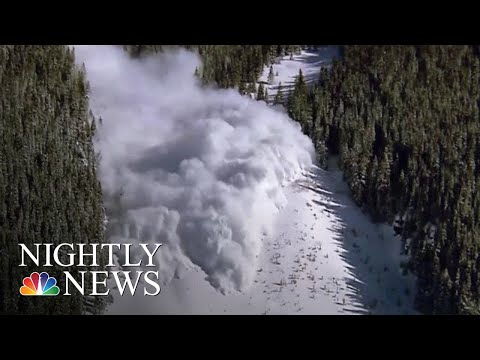 Skier Dies In Avalanche Outside Aspen | NBC Nightly News