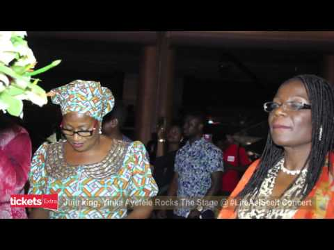 Yinka Ayefele Thrills Guests at Julius Agwu's Life As I See It Concert