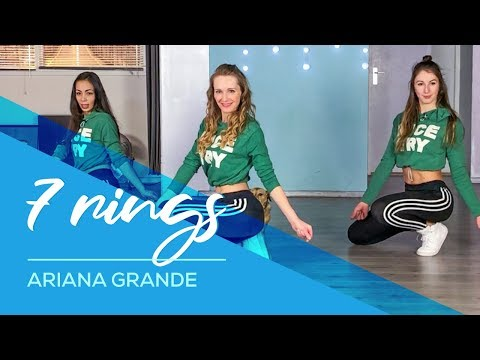7 Rings – Ariana Grande – Easy Fitness Dance Video – Choreography