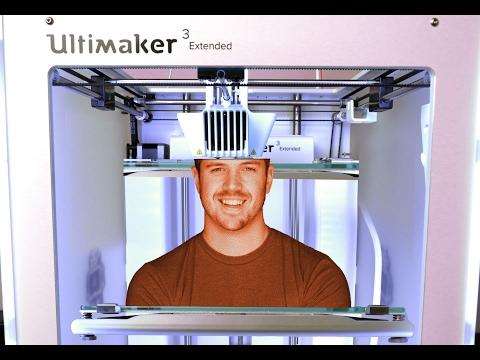 $5,000 3D Printer with MAGIC dissolving plastic!