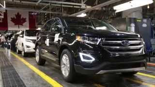 Ford Edge Production in Oakville Assembly
