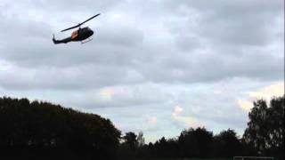 preview picture of video 'Bell UH-1D SAR im Landeanflug, Hürtgenwald 2014'