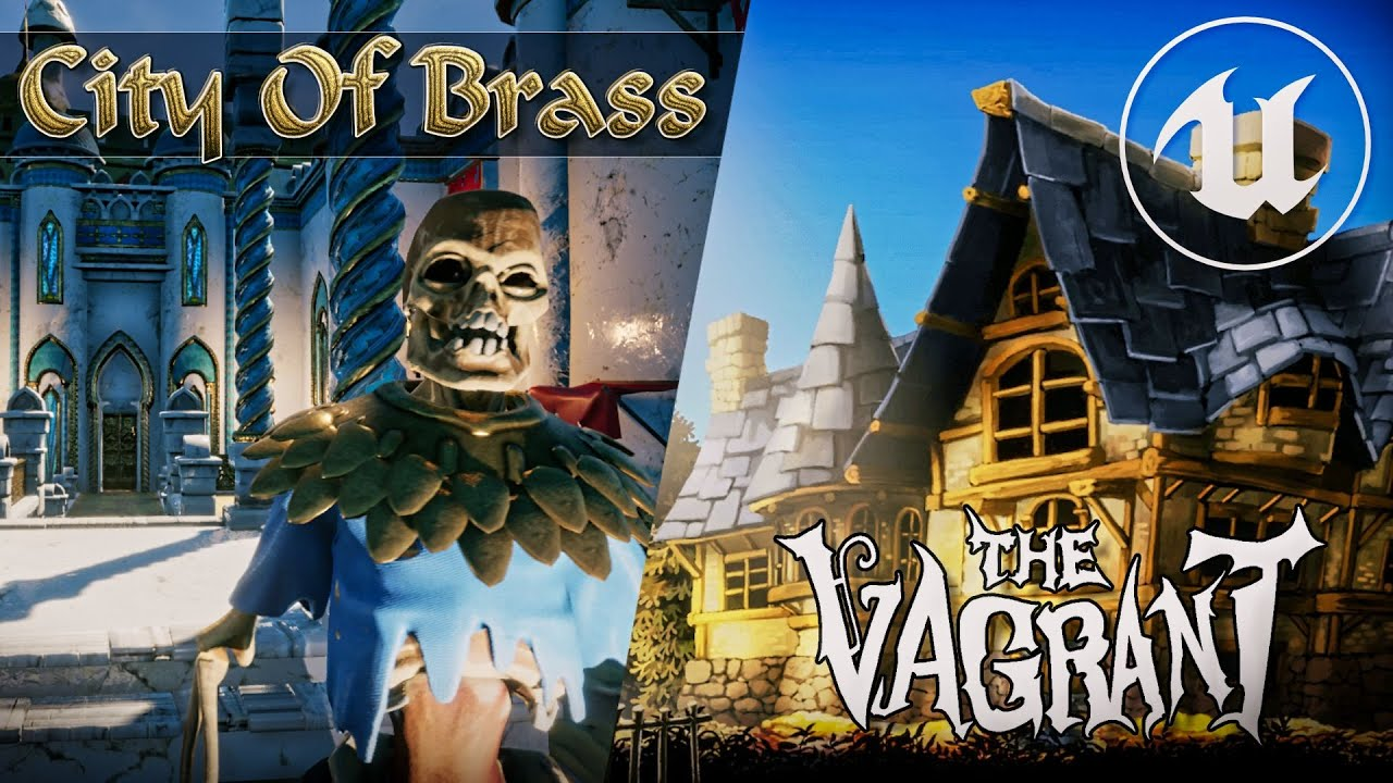 MASSIVE Unreal Engine Giveaway -- City of Brass AND The Vagrant Assets Free!
