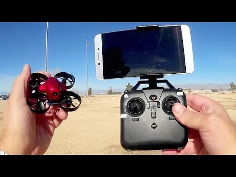 DM104S Micro FPV Drone Flight Test Review