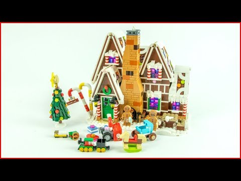 LEGO CREATOR 10267 Gingerbread House - Speed Build - Unboxing