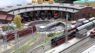 preview picture of video 'Modelleisenbahnausstellung Wismar 2014'