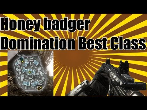 Honey Badger Dom Best Class CoD Ghosts