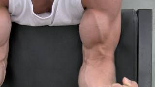 Biceps Workout at gym  - 3 Bicep Exercises for Mass