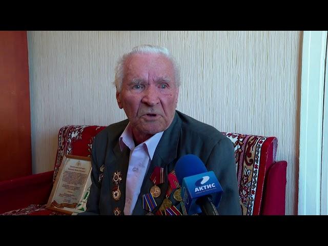 Ангарский фронтовик отметил 96 день рождения