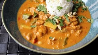 Peanut Curry Chicken  - How to Make Chicken with Peanut Curry Sauce | Kholo.pk