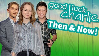 """Good Luck Charlie"" Cast, Then and Now!"