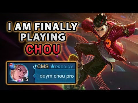 I Finally Decided To Play Chou Cuz Of This New Skin | Mobile Legends