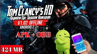 How To Download//Rainbow Six Shadow Vanguard HD//Free For Android