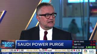 Ali Shihabi breaks down Saudi Arabia's anti-corruption drive on CNBC's Squawk Box