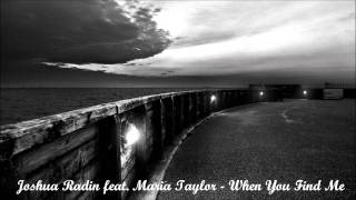Joshua Radin feat. Maria Taylor - When You Find Me