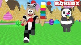 Gambar cover Dondurma Canavarı Oluyoruz - Panda ile Roblox ICE CREAM SIMULATOR