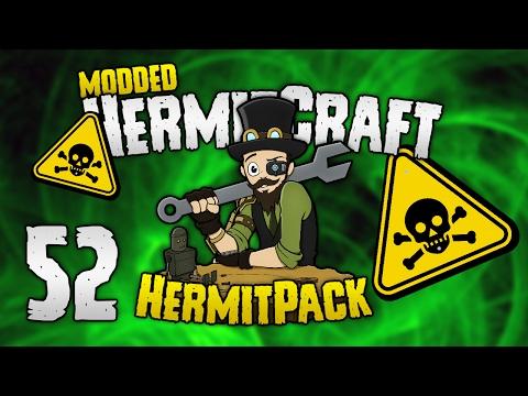 HermitCraft Modded - #52: ☠ POISON PRANK! 🚸  [HermitPack]
